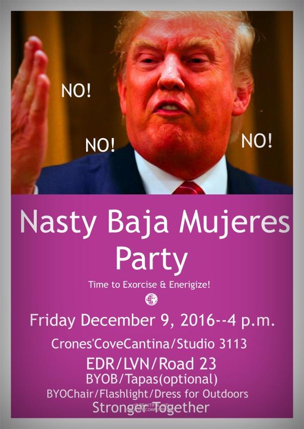 Nasty Baja Women Party, Friday, December 9, 2016, 4 PM